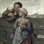 Maris, Jacob -- Dorpelingen, 1872, Rijksmuseum: part 3