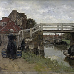 Maris, Jacob -- De brug, 1879, Rijksmuseum: part 3
