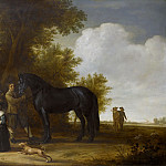 Unknown artist -- Groepsportret in een landschap, 1638-1640, Rijksmuseum: part 3