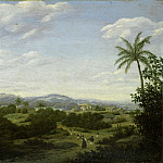 Rijksmuseum: part 3 - Post, Frans Jansz. -- Braziliaans landschap, 1644-1680