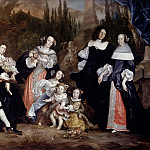 Jurian Iakobs -- Group Portrait of Michiel de Ruyter and his Family, Rijksmuseum: part 3