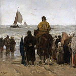 Maris, Jacob -- Aankomst der boten, 1884, Rijksmuseum: part 3