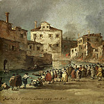 Guardi, Francesco -- De brand in de wijk van San Marcuola, Venetië, 28 november 1789, 1789-1820, Rijksmuseum: part 3