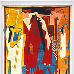 European art; part 1 - Albert Gleize - Rug