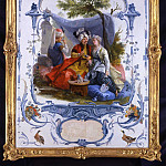European art; part 1 - Jean Baptiste Huet - The Turkish Lovers [attr.]