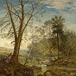 European art; part 1 - Benjamin Williams Leader A sunny stream Beardon Dartmoor 40246 20