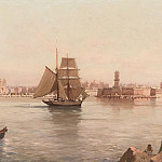 European art; part 1 - CHEVALIER AndrГ©e Paris 19th 20th century The Port of Marseille 122527 121