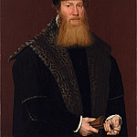 Европейская живопись; часть 1 - Attributed to Nicolas Neuchatel Portrait of an Unknown Gentleman 67939 321