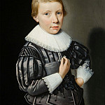European art; part 1 - 17th Century Dutch School Portrait of a Boy ages Seven and three quarters 27406 268