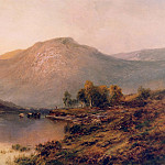 European art; part 1 - Alfred de Breanski Sr The Perthshire Hills