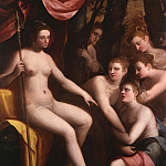 European art; part 1 - Andrea Semino Diana and Callisto i 36766 321