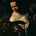European art; part 1 - Angelo Caroselli Witchcraft Scene 16724 203