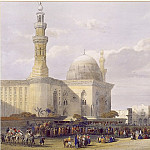 European art; part 1 - David Roberts Mosque of Sultan Hassan 31445 3606