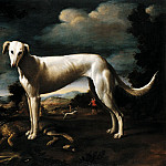 European art; part 1 - Baccio del Bianco Portrait of a Greyhound 16178 203