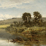 European art; part 1 - Benjamin Williams Leader The Thames at Streatley 40256 20