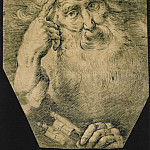 European art; part 1 - BERNARDO STROZZI Study of St Peter 11396 172