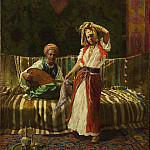 European art; part 1 - Addison T Millar Arab Dancing Girl 43159 3606