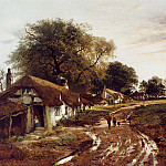 European art; part 1 - Benjamin Williams Leader Sunshine After Rain 12141 2426
