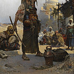 European art; part 1 - Charles Wilda The Snake Charmer 120651 3606