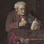 European art; part 1 - Charles Spencelayh A Touch of Rheumatism 28615 20