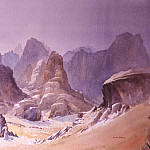 European art; part 1 - David Bellamy Bedouin Tea Kazareh Canyon Rum 31403 3606