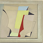 European art; part 1 - Ben Nicholson May 24 52 [red yellow blue] 28497 20