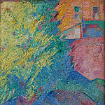European art; part 1 - ALFRED AARON Wolmark Figures under a tree 40708 1184