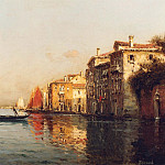 European art; part 1 - Antoine Bouvard Sr The Grand Canal Venice