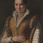 European art; part 1 - ALESSANDRO ALLORI Portrait of Bianca Capello de Medici 79799 316
