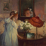 European art; part 1 - Albert Chevalier Tayler The Mirror 100339 20