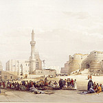 European art; part 1 - David Roberts The Entrance to the Citadel of Cairo 39532 3606