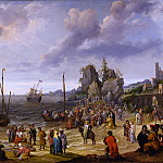European art; part 1 - Adam Willaerts Miracle on the Beach of Gennesaret 32652 172