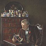 European art; part 1 - Charles Spencelayh The latest addition 28621 20