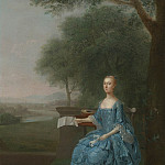 European art; part 1 - Arthur Devis Portrait of Anne Sidney Mrs Henry Streatfeild 31554 20