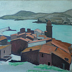European art; part 1 - Albert MARQUET Vue de Collioure 37943 3449