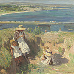 European art; part 1 - Dame Laura Knight In the sun Newlyn 99219 20