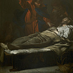 European art; part 1 - Bernardo Cavallino The Death of Saint Joseph i 27020 203