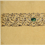 European art; part 1 - Anon French School Design for a bracelet 29501 172