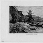 European art; part 1 - Adolphe Appian Bord du Lac du Bourget – The Lakeside at the Bourget 1866 122919 1124