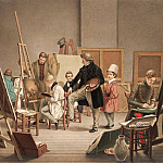 European art; part 1 - Alphonse de Labroue In the artist's studio