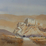 European art; part 1 - David Bellamy - Kasbah Dades Valley