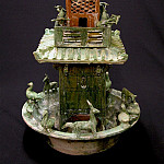 European art; part 1 - Architectural Model of a Central Watch Tower 12213 233