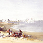 European art; part 1 - David Roberts Sidon General View 39529 3606