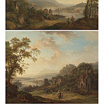 European art; part 1 - Christian Georg Schutz Rhenish landscapes 100059 20