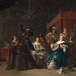 European art; part 1 - Anthonie Palamedes - A Musical Party