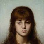 European art; part 1 - Alexei Alexeiwicz Harlamoff Study of a girl 98640 20