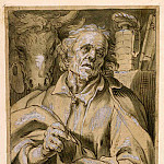 European art; part 1 - ABRAHAM BLOEMAERT Saint Luke