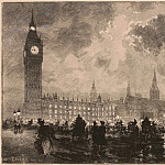 European art; part 1 - Auguste LepГЁre Parlement Г  neuf heures du soir London 26998 1124