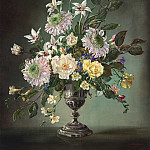 European art; part 1 - Cecil Kennedy Summer flowers 40229 20