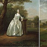 Arthur Devis Portraits of Mr & Mrs Edward Travers 31555 20, Arthur William Devis